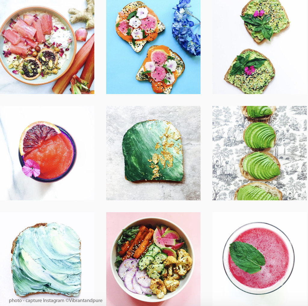 Instagram et food : une histoire de set design
